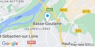 Plan Carte Notaire Pierre Gobin à Basse Goulaine