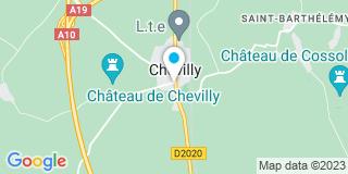 Plan Carte Notaire Barailla-Ndaw Agnès à Chevilly