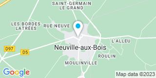 Plan Carte Notaire Olivier Douvin à Neuville aux Bois