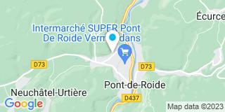 Plan Carte Renard Marc et Renaud Bertoux Laurence à Pont De Roide