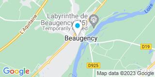 Plan Carte Les notaires Benoît Malon et Linda Cherrier-Touchain à Beaugency