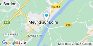 Plan Carte Les notaires Luc Villet et Thomas Camus à Meung sur Loire