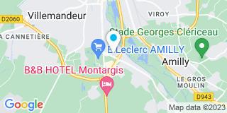 Plan Carte Notaire July Dechamp-Dolivet à Amily