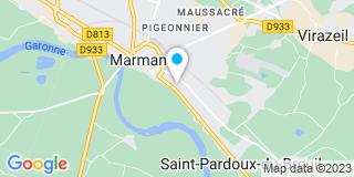 Plan Carte Notaire Fortin Michel à Marmande