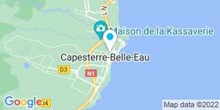 Plan Carte Othily Karl-Antoine à Basse Terre