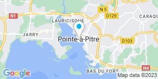 Plan Carte Kacy Alexandre à Pointe à Pitre