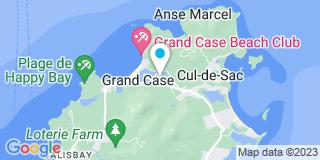 Plan Carte Mouial Gérald,  Jacques Nadia, Herbert Renaud et Collanges Thierry à Saint-Martin