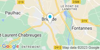 Plan Carte Jean-Pierre Boyer et Françoise Bertucat à Brioude