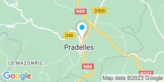 Plan Carte Me Patrice Satin et Me Valérie Chomarat à Pradelles