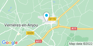 Plan Carte Notaire Yves Paillard à Saint Sylvain D'Anjou