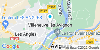 Plan Carte Jean-Marie Miramant, Roland Roux à Villeneuve-les-Avignons