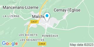 Plan Carte Feuvrier Romain et Polatli Raymond à Maiche