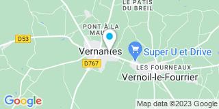 Plan Carte Notaire Sophie Bouis-Dequidt à Vernoil
