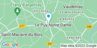 Plan Carte Notaire Frédéric Varin à Le Puy Notre Dame
