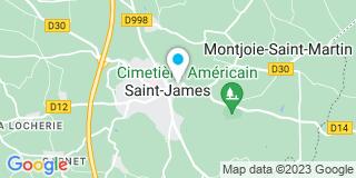 Plan Carte Notaire Véronique Boismorand à Saint James