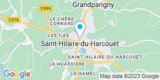 Plan Carte Notaire Paul-Henri Martin  Saint Hilaire du Harcouët