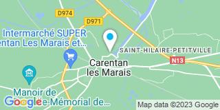 Plan Carte Les notaires François Gravelle, Jérôme Lemaitre et Stéphane Eudes à Carentan