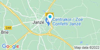 Plan Carte Pierik André et Florent Branellec à Janzé