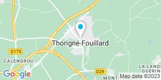 Plan Carte Romain Jouffrey à Thorigné-Fouillard