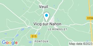 Plan Carte Langlois Charles-Alexandre à Vicq-sur-Nahon