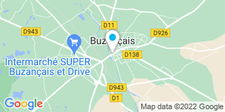 Plan Carte Bruno Luthier et Laurent Luthier à Buzançais