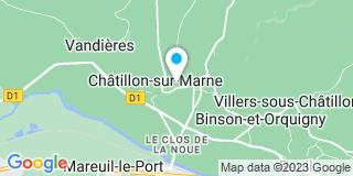 Plan Carte Notaire François Chamard à Chatillon sur Marne
