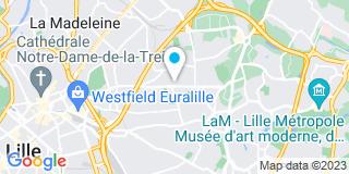 Plan Carte Hetmanczyk Marie-France à Mons-en-Baroeul