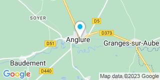 Plan Carte Les notaires Corine Pageot et Benoît Vinot à Anglure