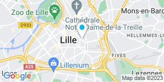 Plan Carte Lancelin Josette à Lille