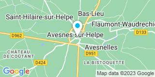 Plan Carte Landmann Emmanuel à Avesnes-sur-Helpe