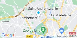 Plan Carte Lepers-Boulot Blandine à Lambersart