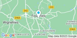 Plan Carte Antoine Dame et Giuseppe Callea à Fourmies