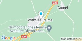 Plan Carte Notaire Emmanuel Cailteaux à Witry Les Reims