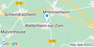 Plan Carte Criqui Chauffage à Waltenheim-sur-Zorn