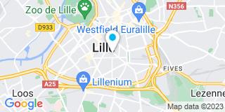 Plan Carte Fabienne Maillet et Michel Senlecq à Lille