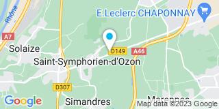 Plan Carte Notaire Michel Dauvisis à Saint Symphorien D'Ozon