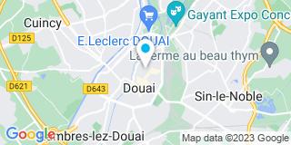 Plan Carte Telliez Florent à Douai