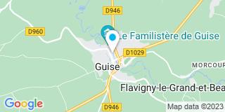 Plan Carte Yves Châtelain à Guise