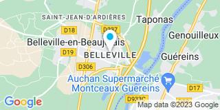Plan Carte Notaire Jean-Luc Mentrel à Belleville