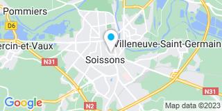 Plan Carte Vianney Depierre à Soissons