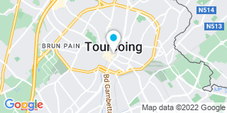 Plan Carte Jacques Adrover et Pierre-Yves Huet à Tourcoing