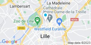 Plan Carte Jérôme Klein, Florence Dehouck-Graux et Marie-Clémentine Prouvost-Dewerdt à Lille