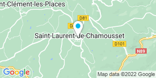 Plan Carte Les notaires Eric Cachard et Antoine Berger à Saint Laurent De Chamousset