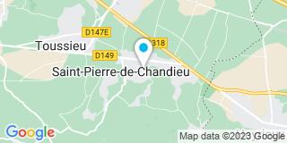 Plan Carte Les notaires Isabelle Schibler-Jacquet et Pierre Stagnara à Saint Pierre De Chandieu