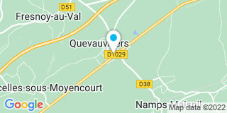 Plan Carte Cannesson Jean-Yves à Quevauvillers