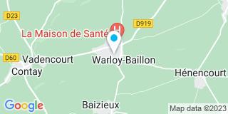 Plan Carte Cappelaere Elisabeth à Warloy-Baillon