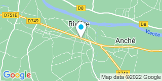 Plan Carte Hélène Chevalier et Pierre-Marie Anglada à Chinon