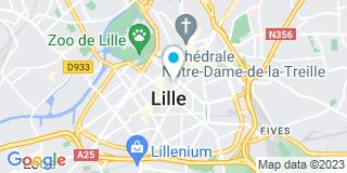 Plan Carte Patrick Vacossin, Sagot-Fonteyne et Hugo Delescluse à Lille
