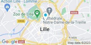 Plan Carte Philippe Delattre, Arnaud Vermunt, Juliette Bonduelle-Haire, Pierre-Elie Martin et David Benveniste à Lille Cedex