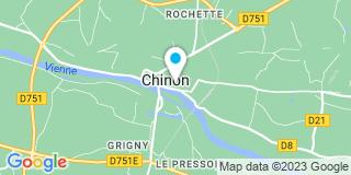 Plan Carte Stéphane Sourdais à Chinon